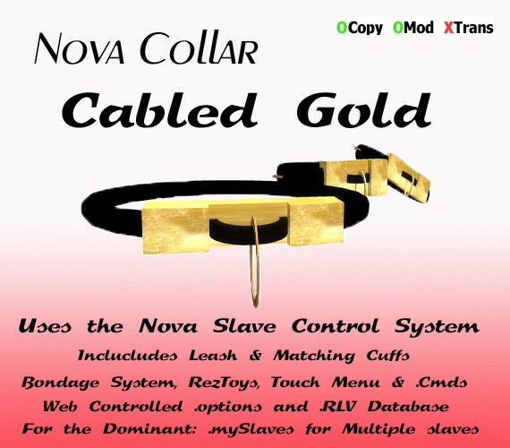 Cabled Gold